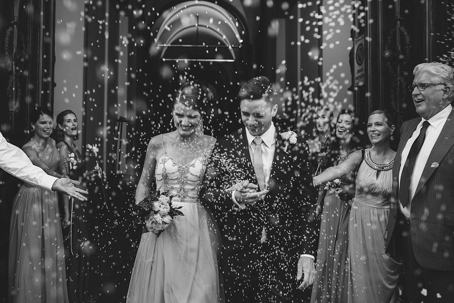 confetti time wedding