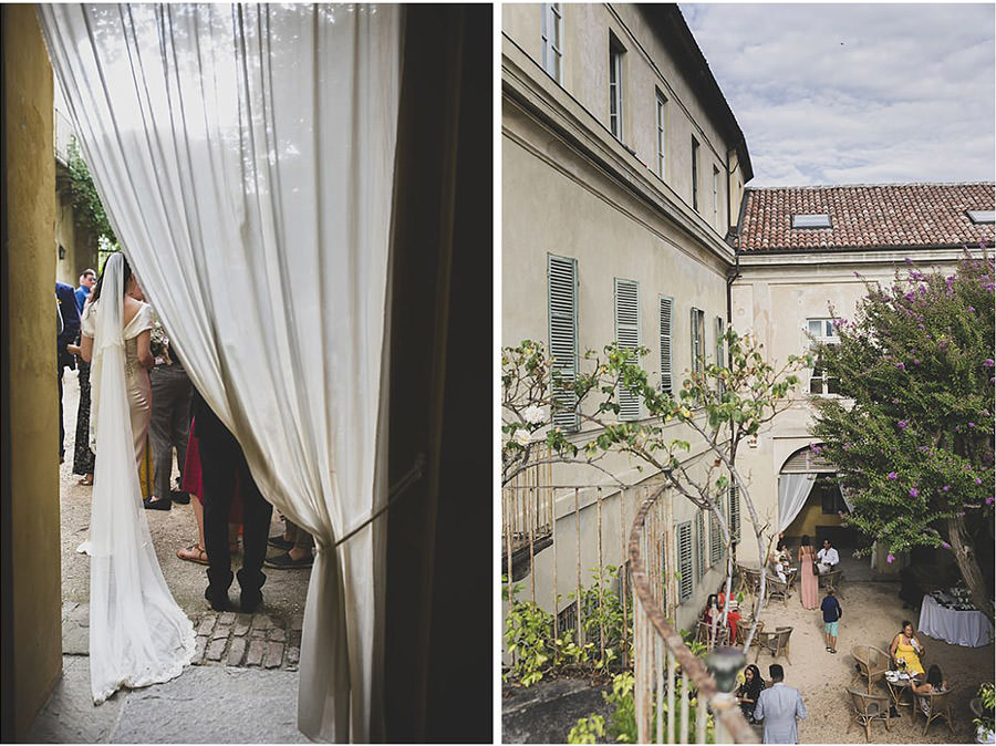 castello san sebastiano wedding reception